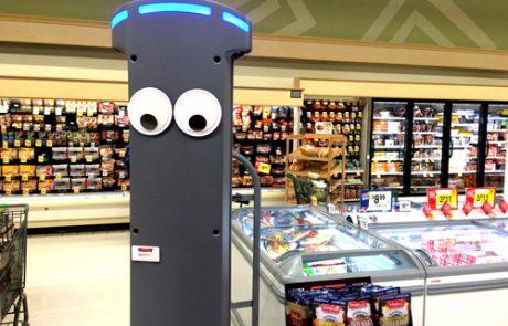 MARTY הרובוט שמטפל בזמינות במדפי החנות